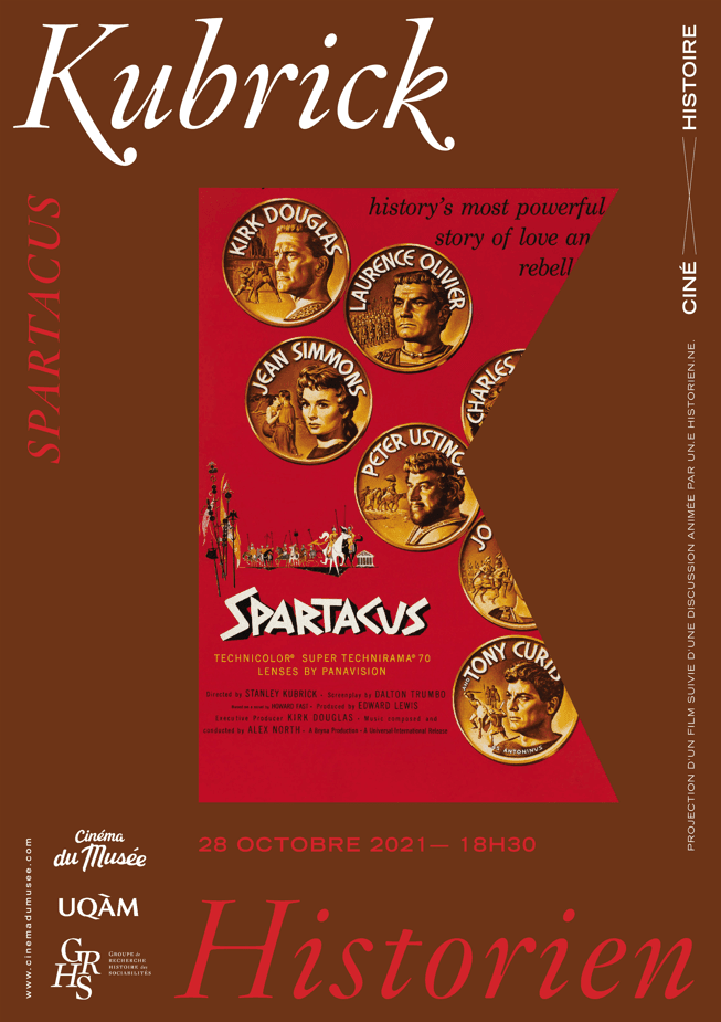 CINÉ-HISTOIRE presents: Spartacus (with French subtitles)