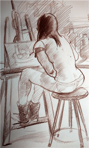 Learning to Draw: Crosshatching Techniques
