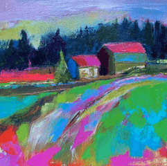 Simple, Colourful Landscapes