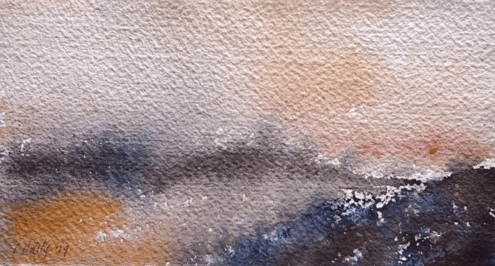 Aquarelle: introduction à l'Abstraction