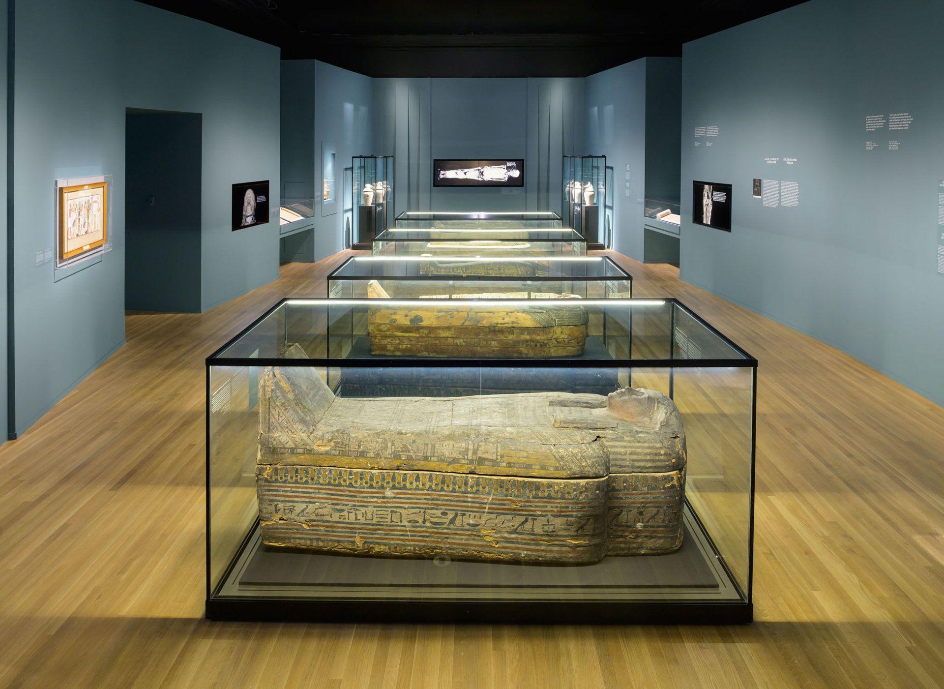Egyptian Mummies: Exploring Ancient Lives Photo MMFA, Denis Farley.