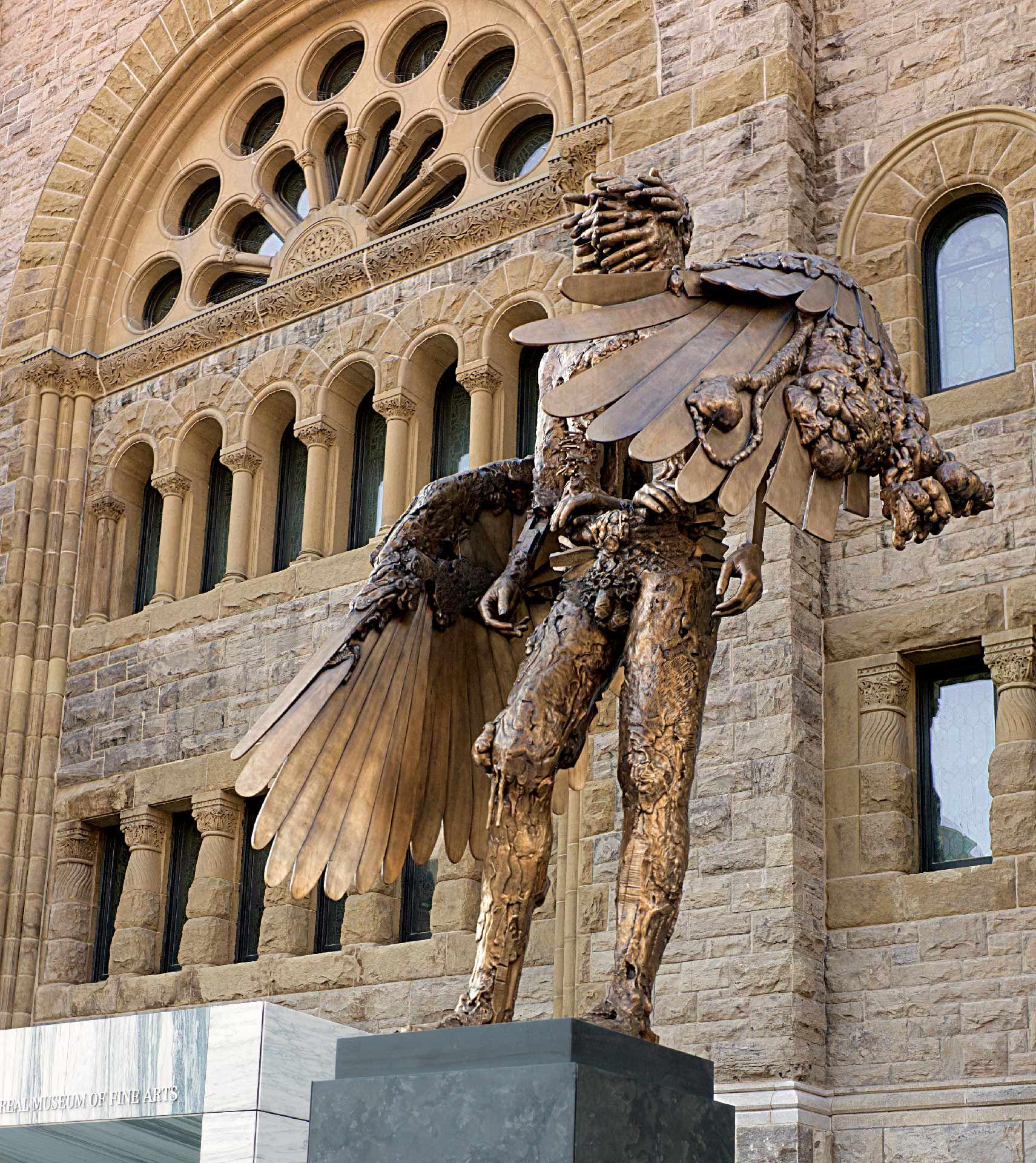 L'oeil de David AltmejdDavid Altmejd (Né à Montréal en 1974), L'œil, 2010-2011, bronze, fonte Atelier du Bronze, Inverness (Québec). MBAM, don de l'artiste et des employés du Musée des beaux-arts de Montréal dans le cadre de la Campagne 2008-2012