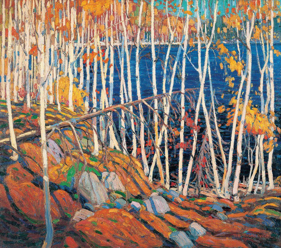 Dans le nord, Tom Thomson, 1915