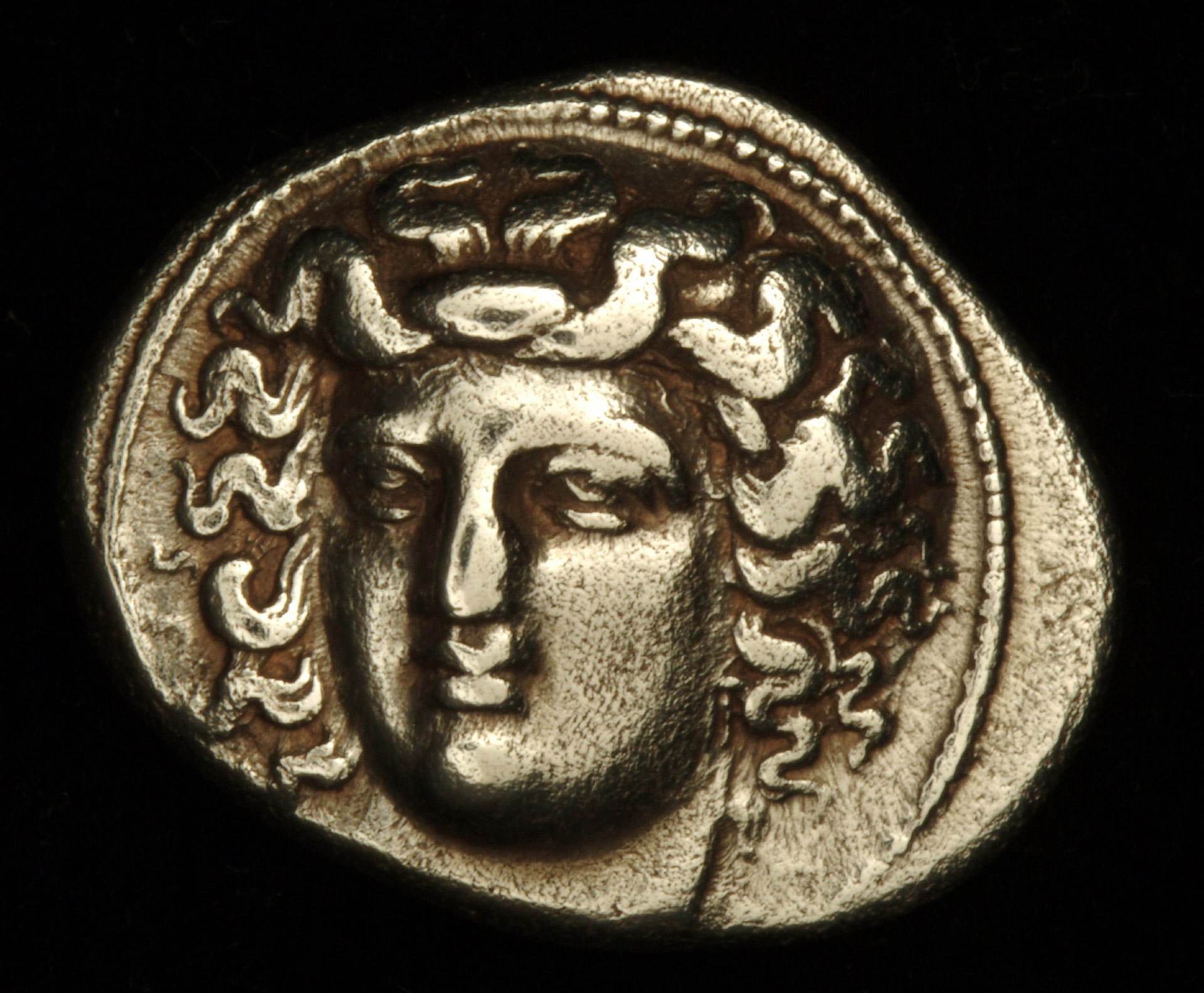 Drachma: Head of Nymph Larissa