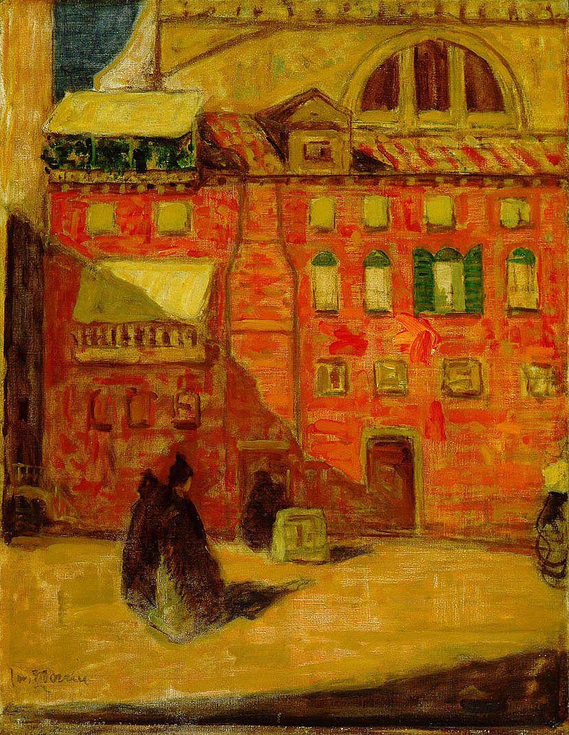 James Wilson Morrice, Maison rouge à Venise
