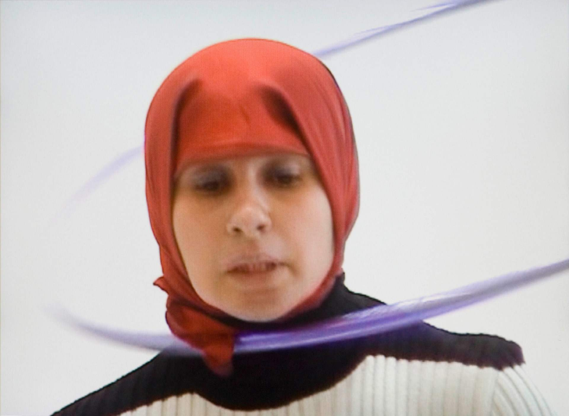 Nezaket Ekici, Hullabelly, 2002, video performance, 6/10, duration: 2 min 4 s. Purchase, Guy de Repentigny Fund.