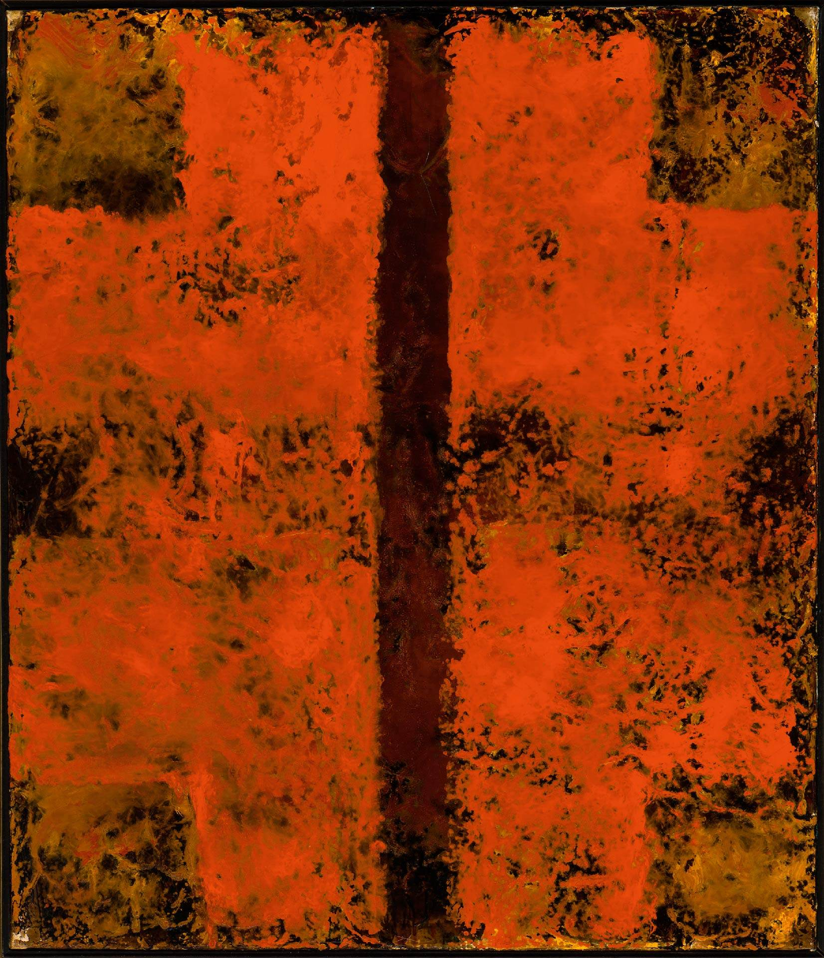 Jean McEwen (1923-1999), Sans titre, 1963 ou 1964
