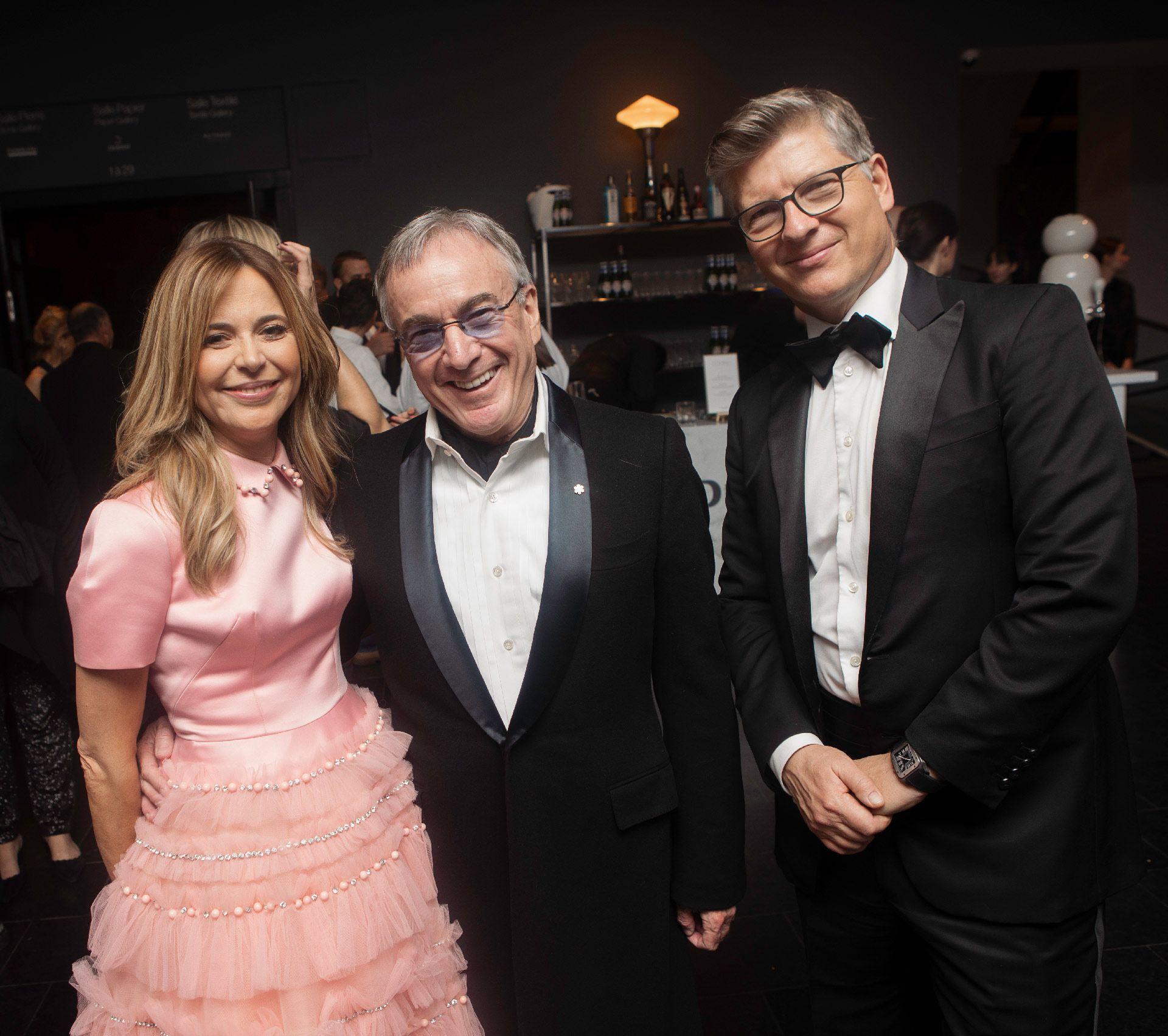 Julie Snyder, Daniel Lamarre et André Dufour. Photo © Sébastien Roy