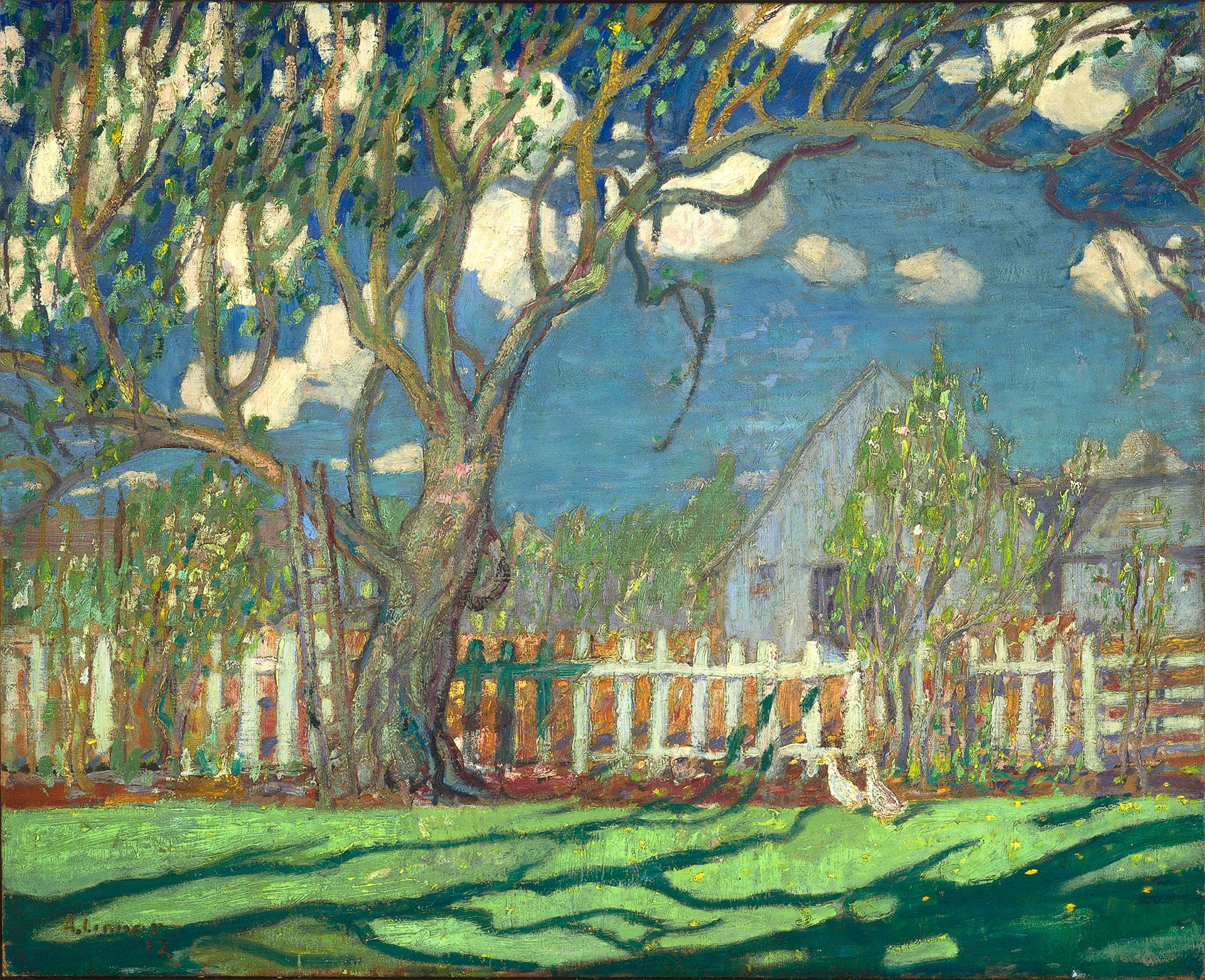 Arthur Lismer, Springtime on the Farm, 1917. MMFA, purchase, A. Sidney Dawes Fund. Photo MMFA