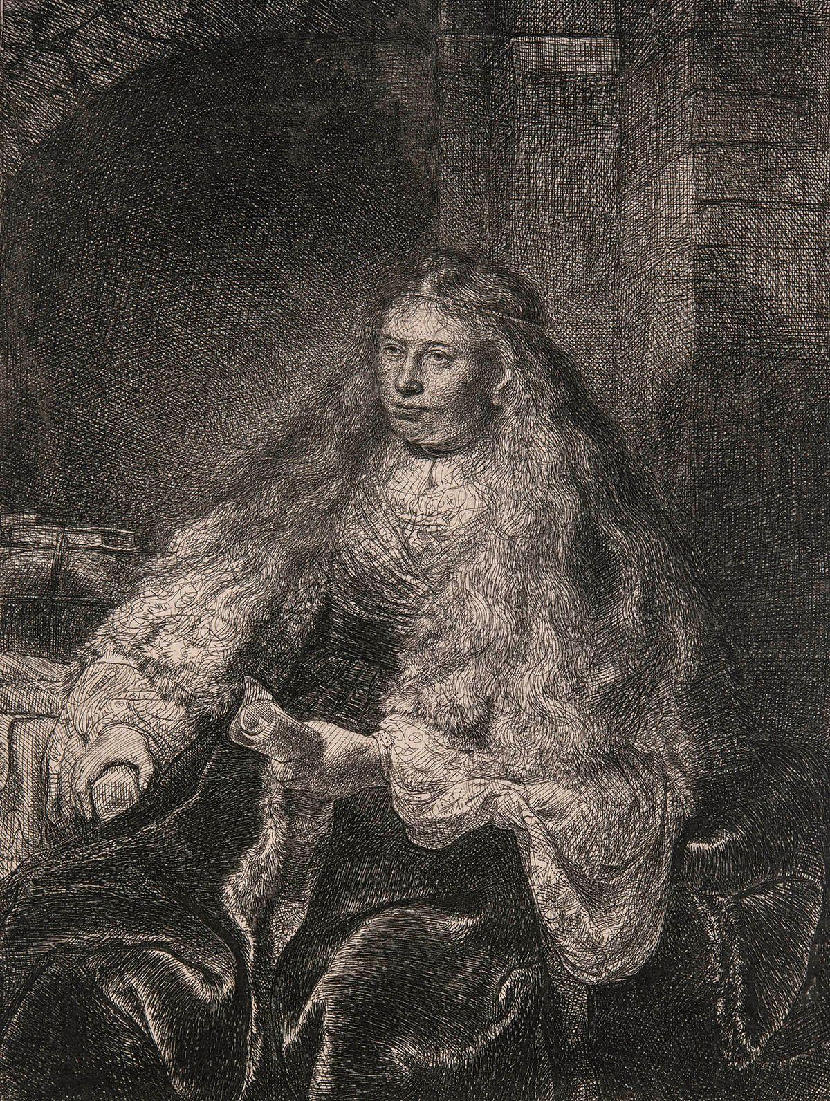 Photo de La grande mariée juive de Rembrandt