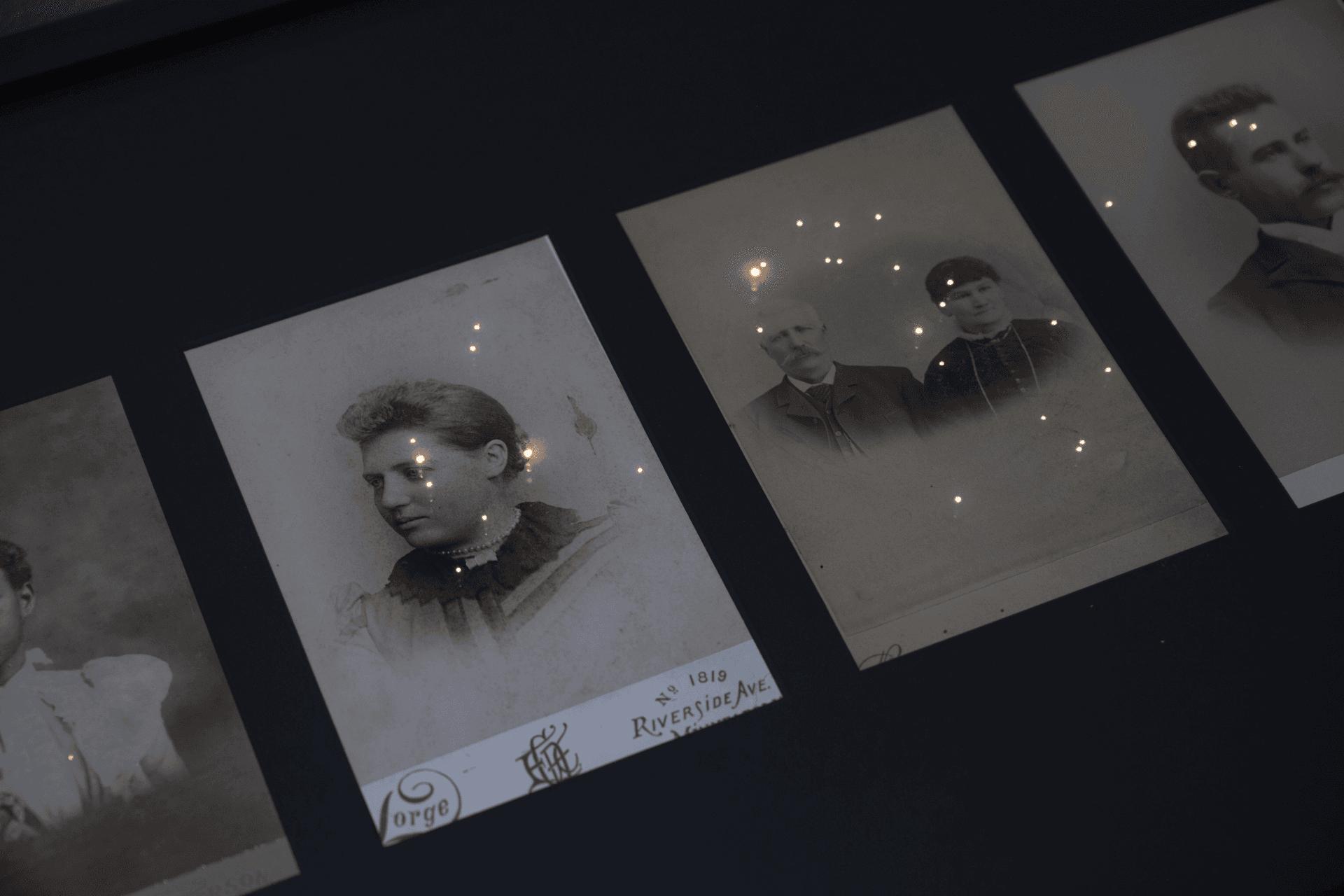 Photo de scénographie de l'exposition Pocreau 2021