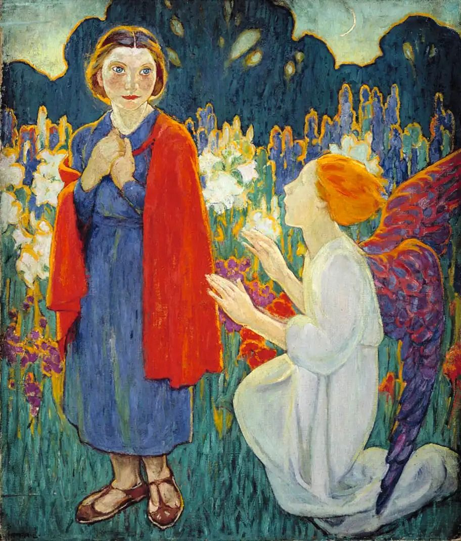 Tableau de Mary Alexandra Bell Eastlake, L'Annonciation