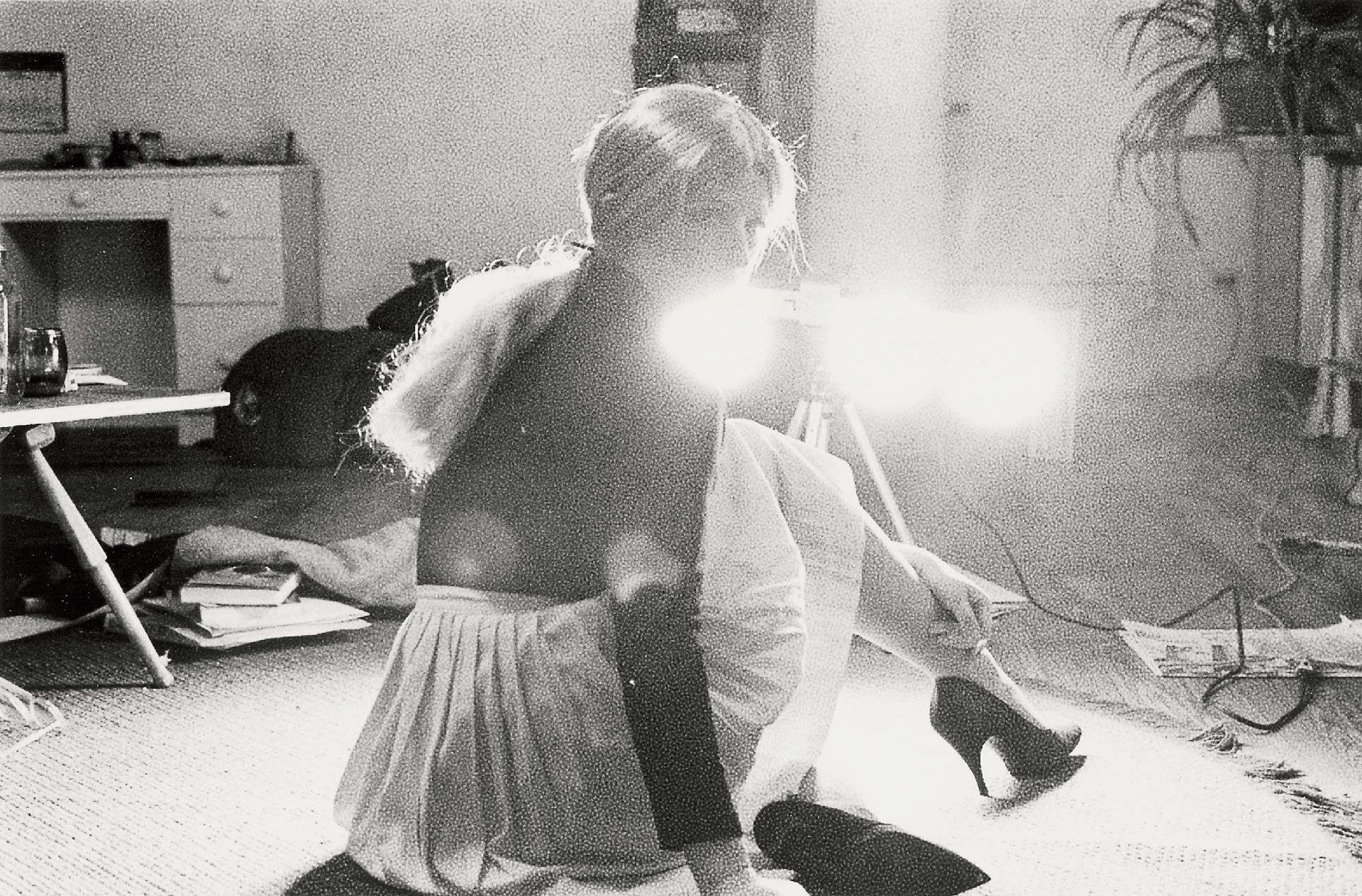 Cindy Sherman (née en 1954), Photogramme sans titre no 62, 1977-2003, épreuve à la gélatine argentique, 2/10. Collection Carol et David Appel. Courtesy of the artist and Metro Pictures, New York