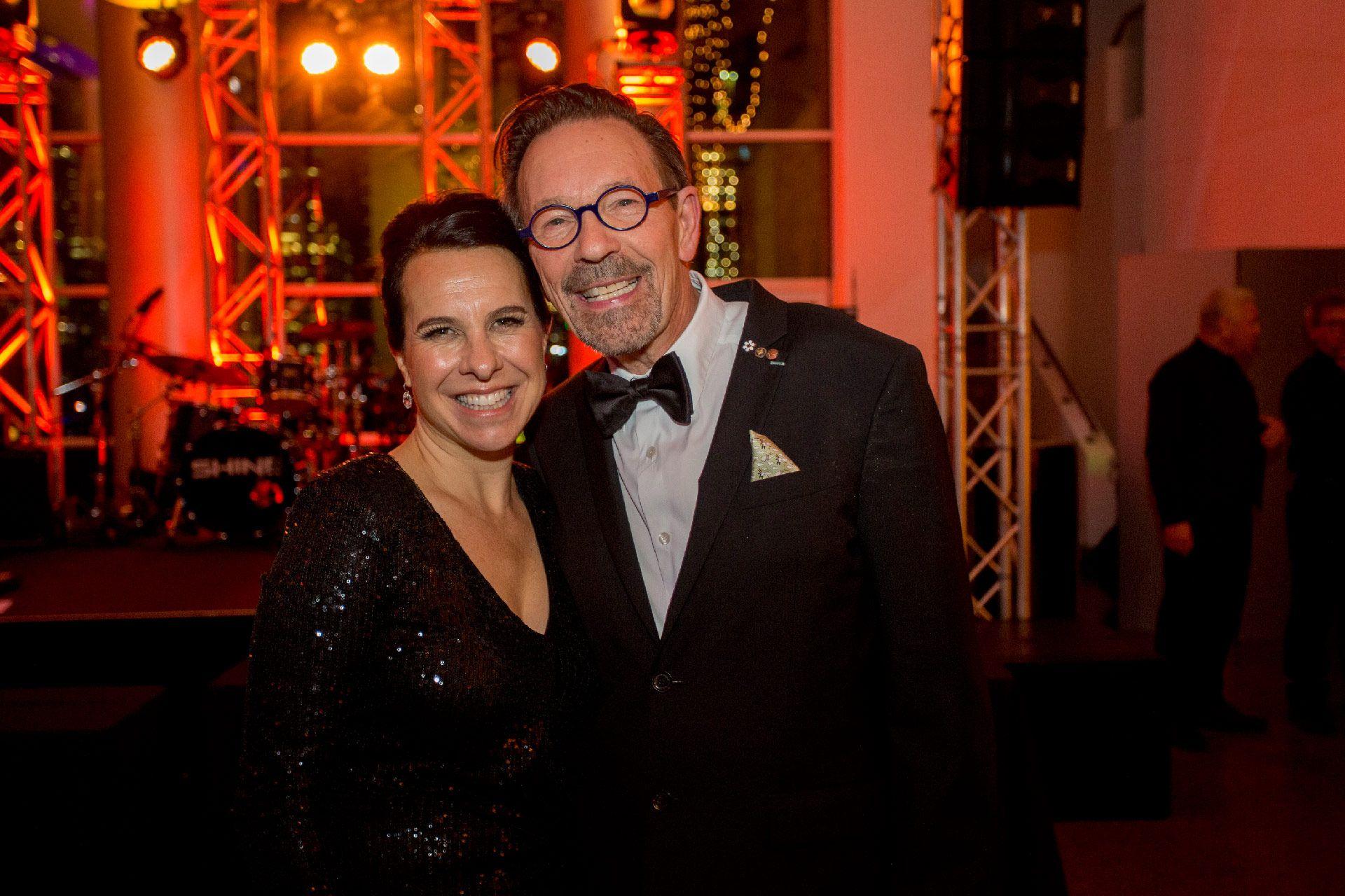 Valérie Plante and Michel de la Chenelière. Photo © Sébastien Roy