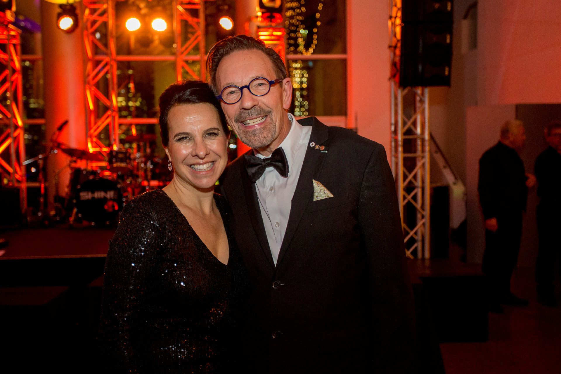 Valérie Plante et Michel de la Chenelière. Photo © Sébastien Roy