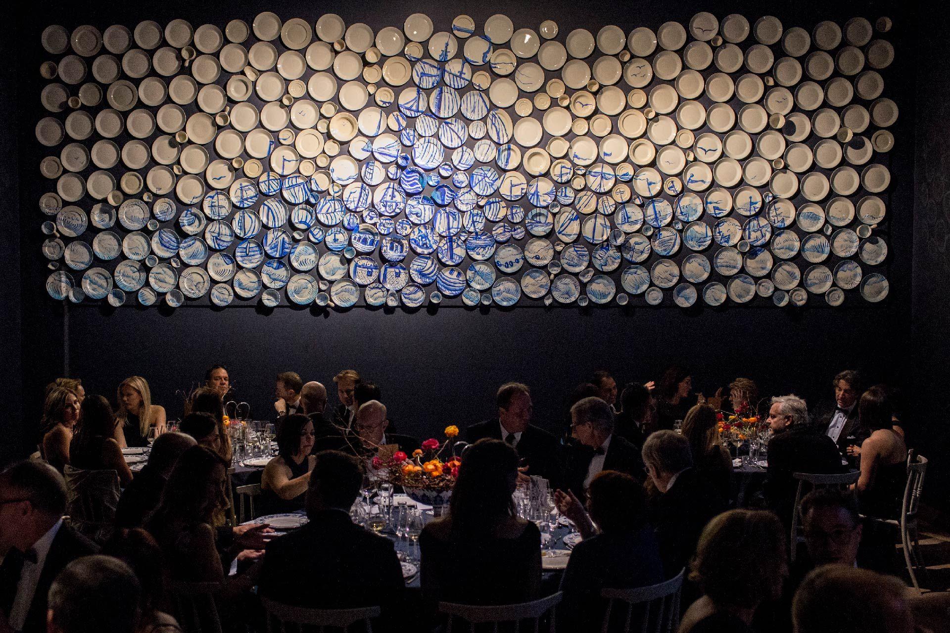 Salle Porcelaine. Photo © Sébastien Roy