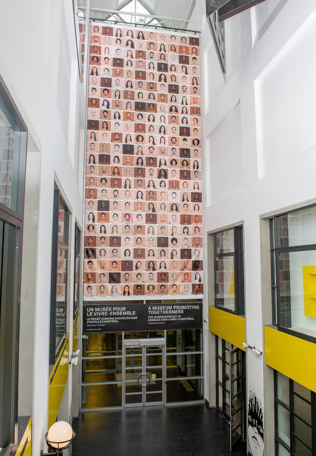 Humanae, a monumental human mosaic by Brazilian photographer Angélica Dass