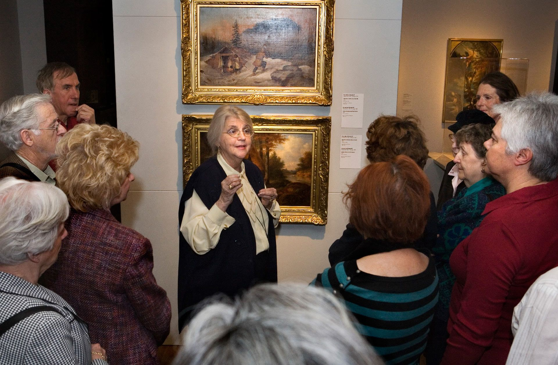 guided tour at the Montreal Museum of Fine Arts