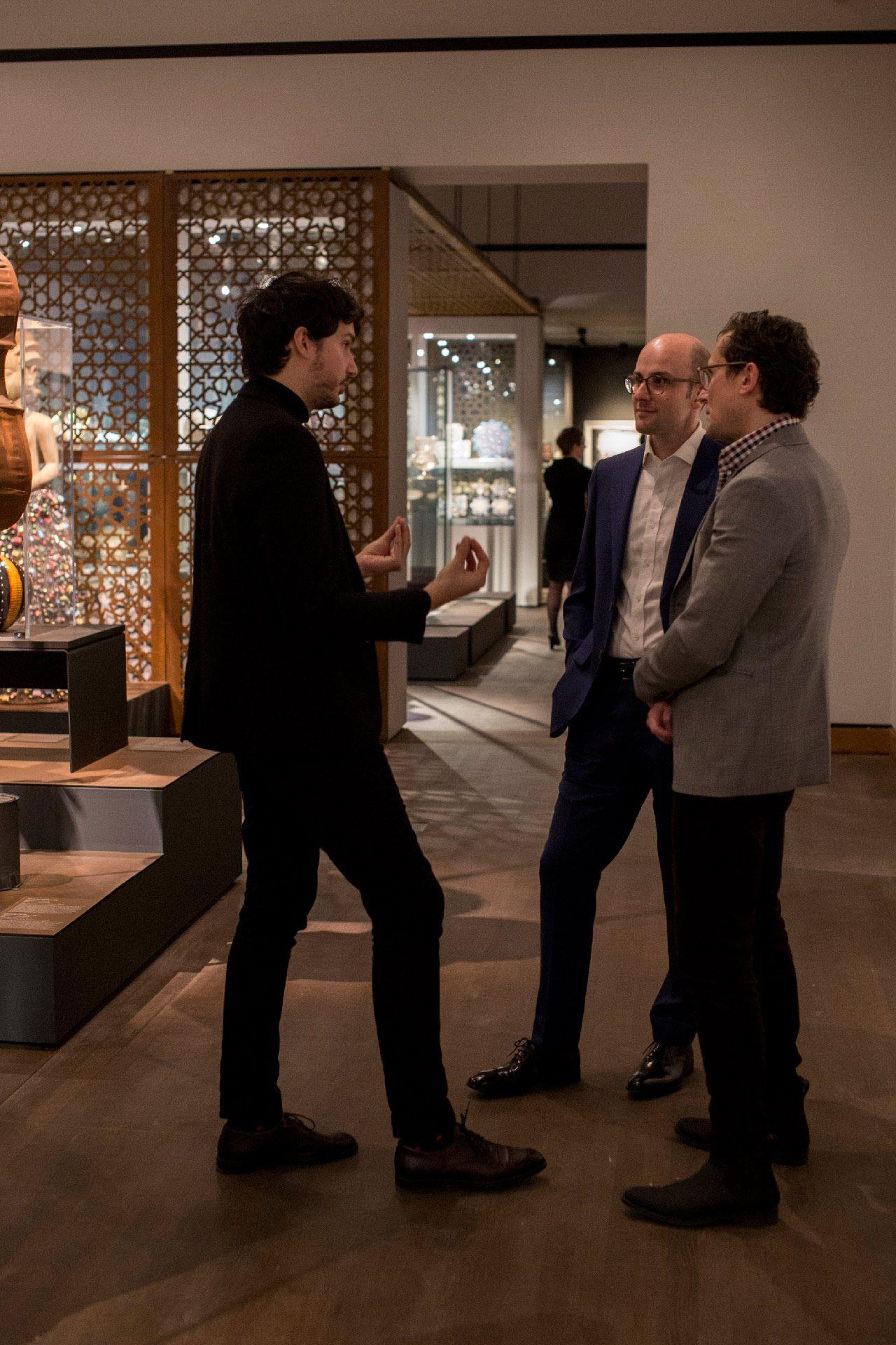 Membres du Cercle Ambassadeur du Musée des beaux-arts de Montréal lors d'un événement en novembre 2019. Photo © Sébastien Roy