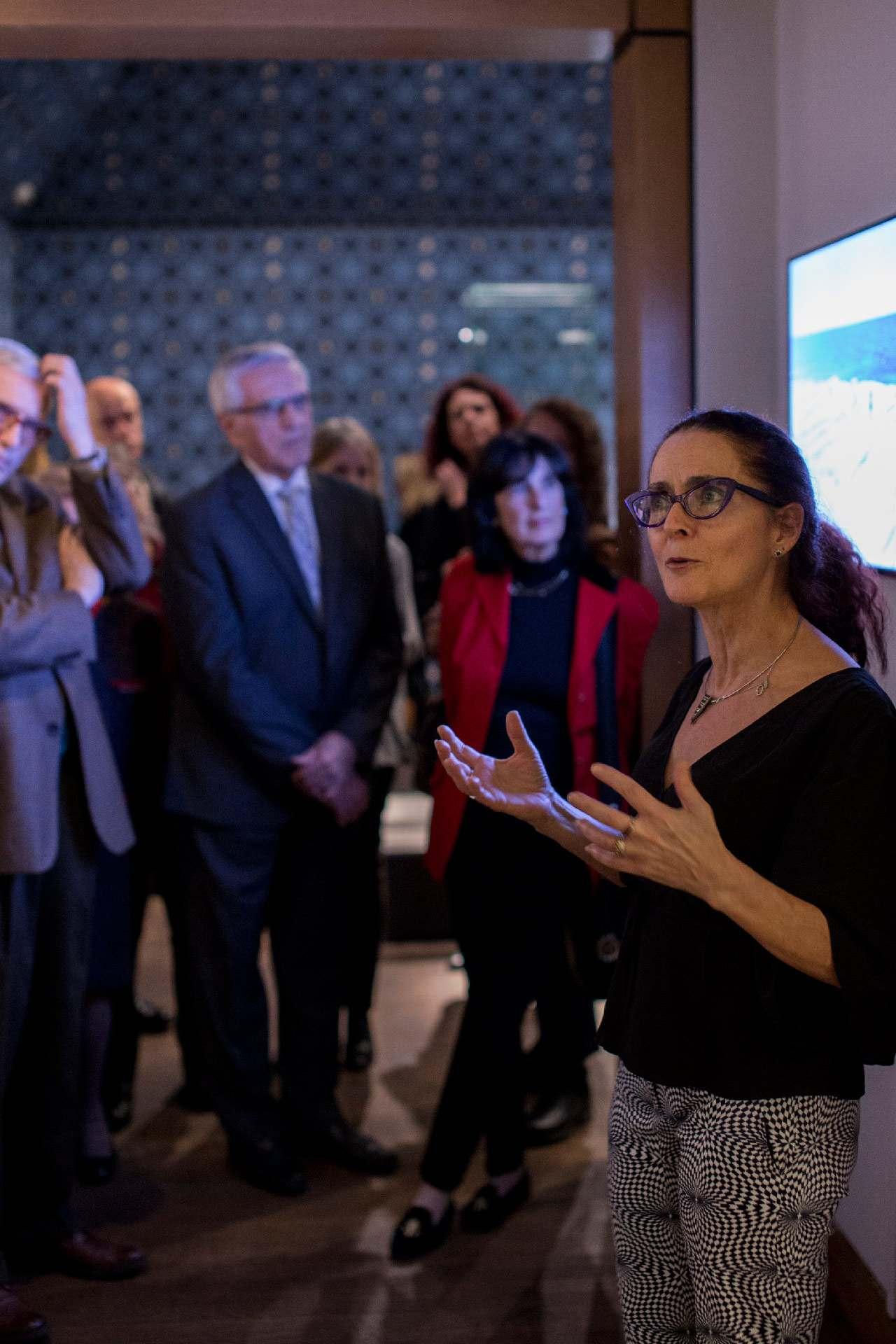 Membres du Cercle Prestige du Musée des beaux-arts de Montréal lors d'un événement en novembre 2019. Photo © Sébastien Roy