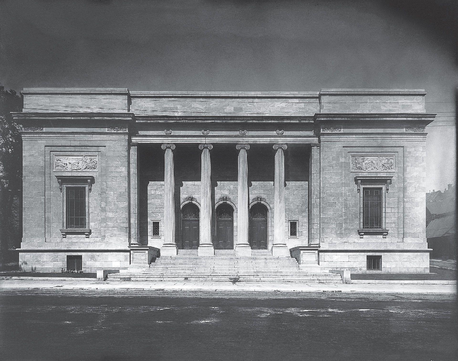 The Art Association's new art gallery, Sherbrooke Street. The Sherbrooke Street facade, 1913.