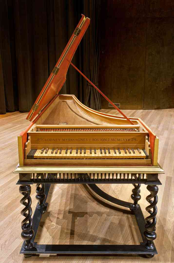 Clavecin italien de la collection de la salle Bourgie Photo MBAM, Christine Guest