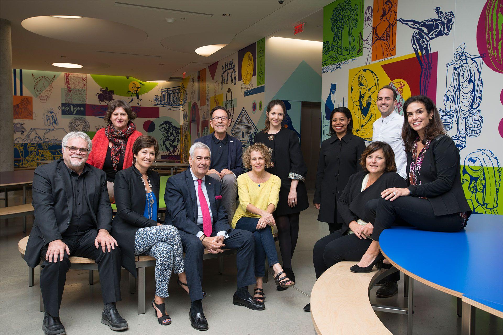 Comité art et éducation. Photo MBAM, Christine Guest