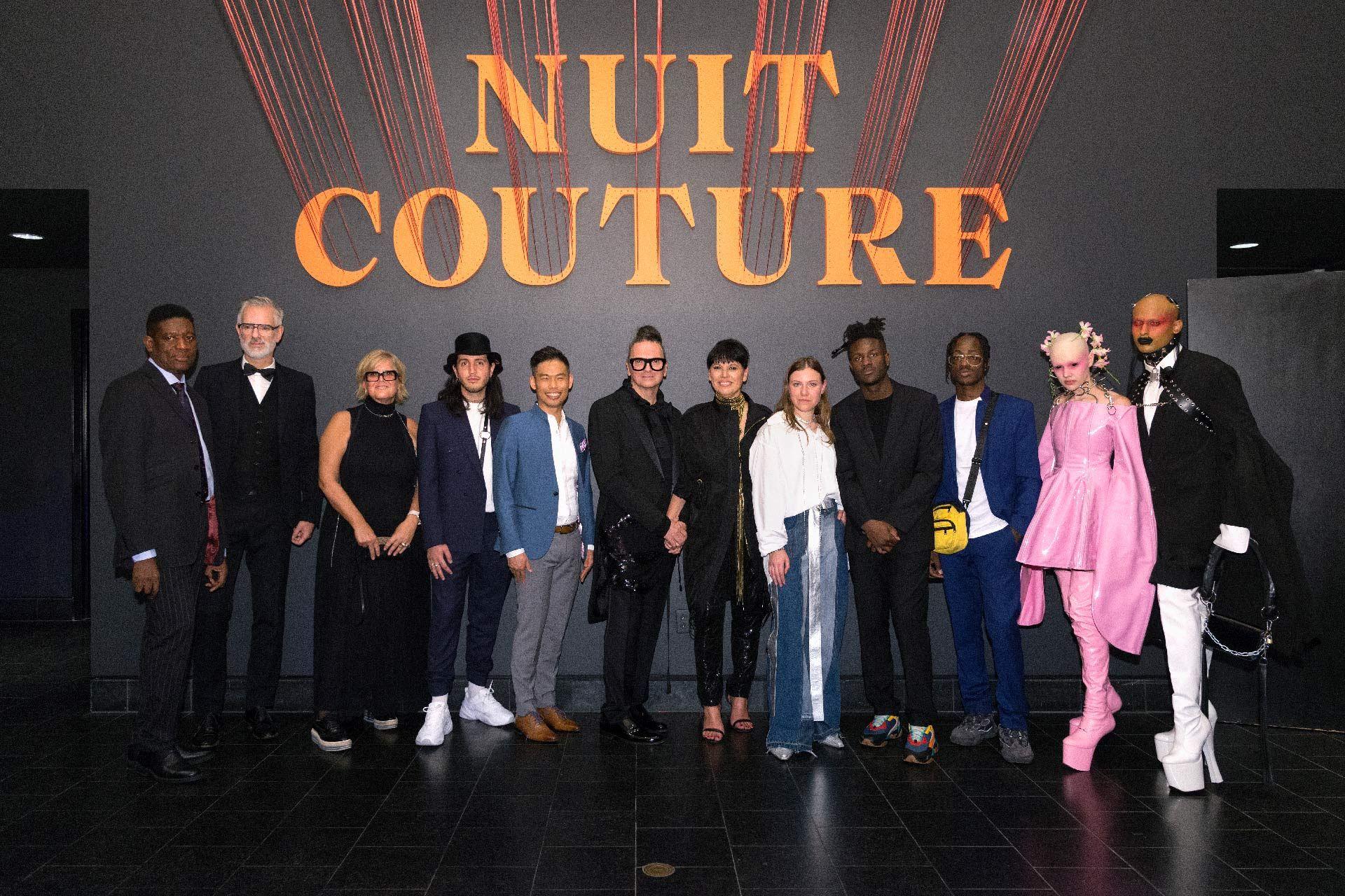 Designers au bal 2018. Photo: Pierre Longtin