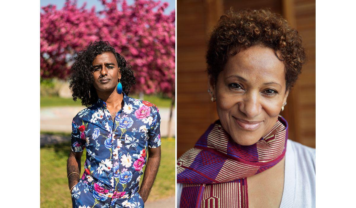 Portrait de Kama La Mackerel et Zab Maboungou