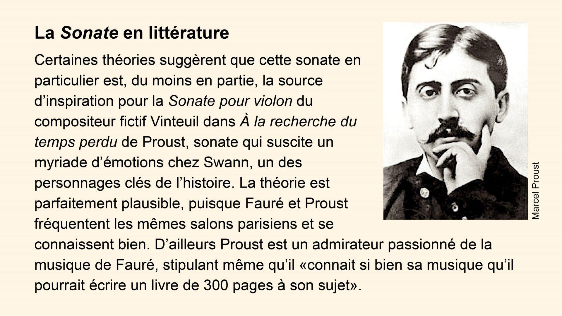 Encadré Proust