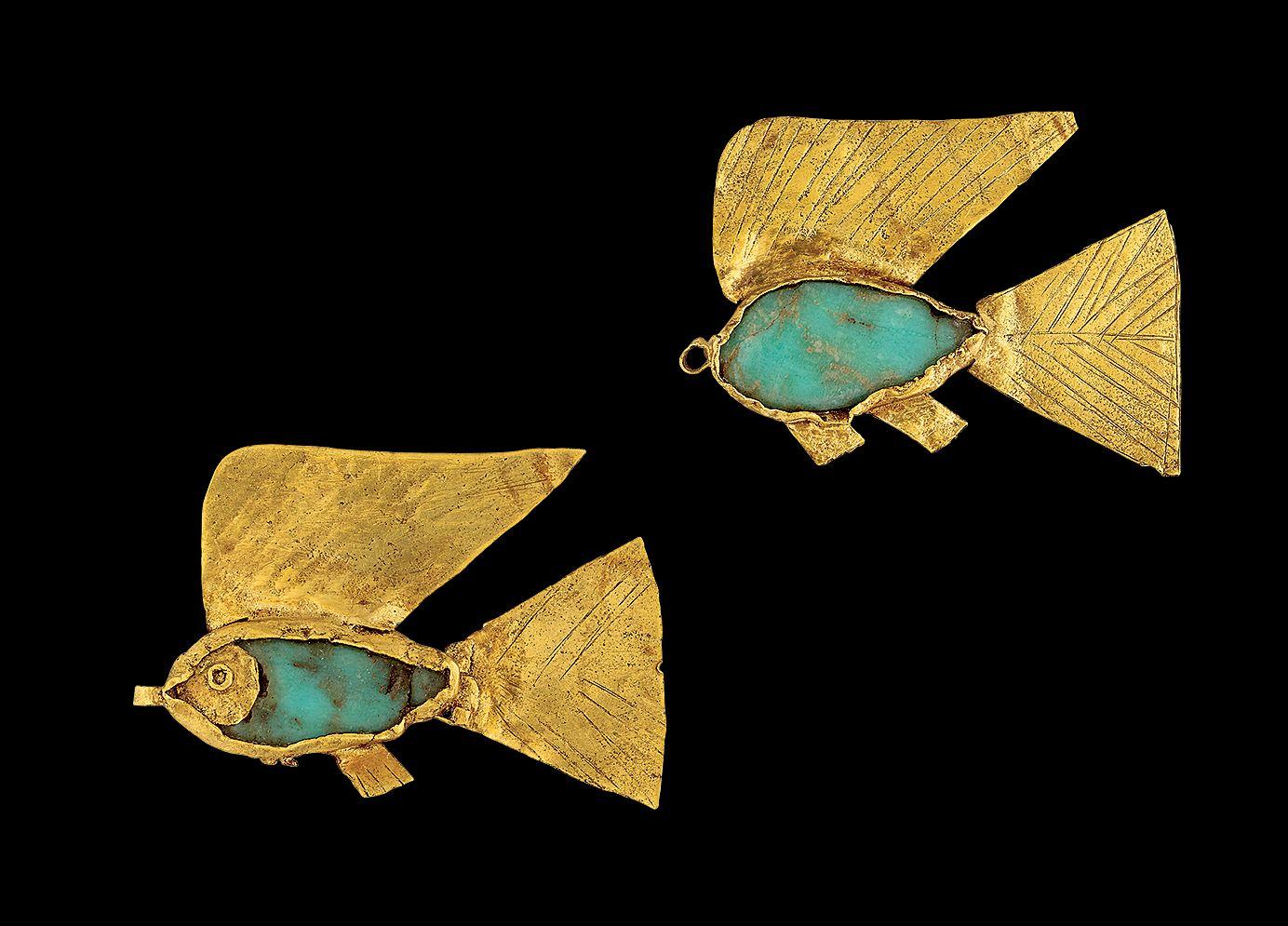 Fish amulets, 12th Dynasty
