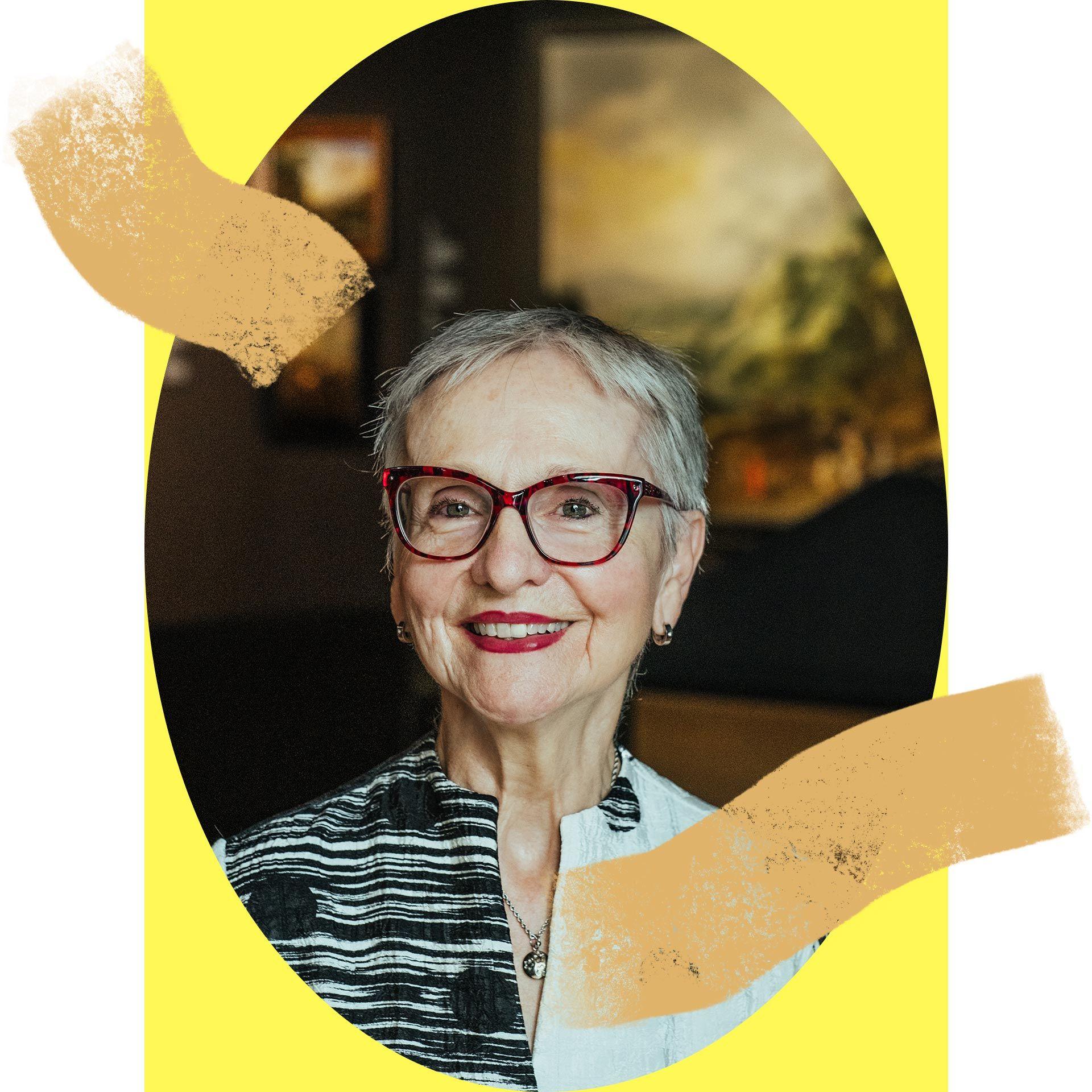 Marie-Michèle Vaillancourt, donatrice à la Fondation du Musée des beaux-arts de Montréal depuis 2017 et guide-bénévole depuis 2016.