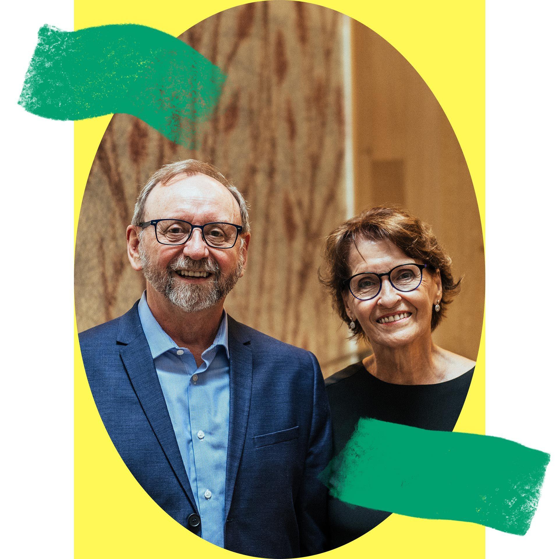 Yvon Lafrenière et Ghislaine Duchesne, donateurs à la Fondation du Musée des beaux-arts de Montréal depuis 2020