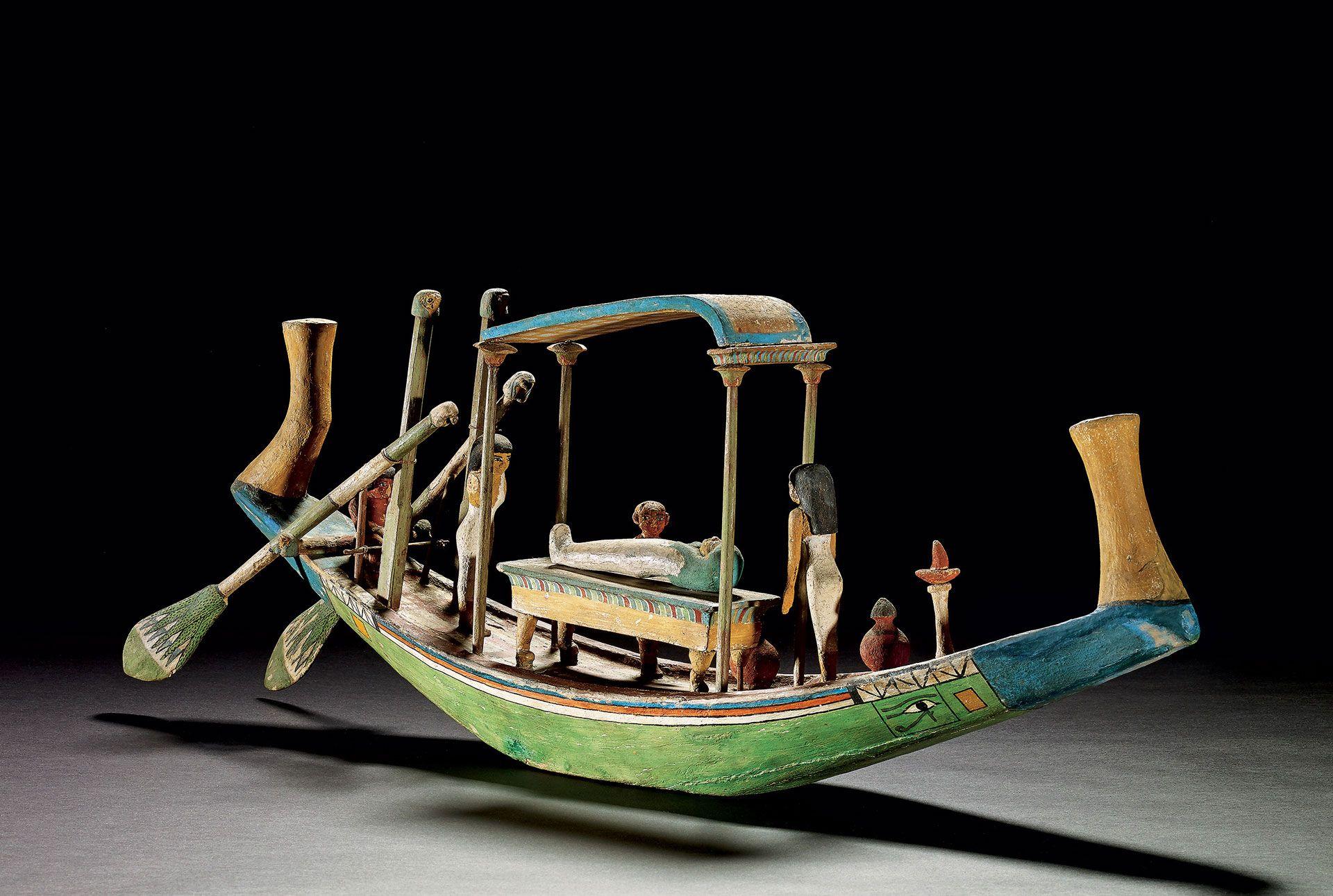 Modèle de barque funéraire, XIIe dynastie