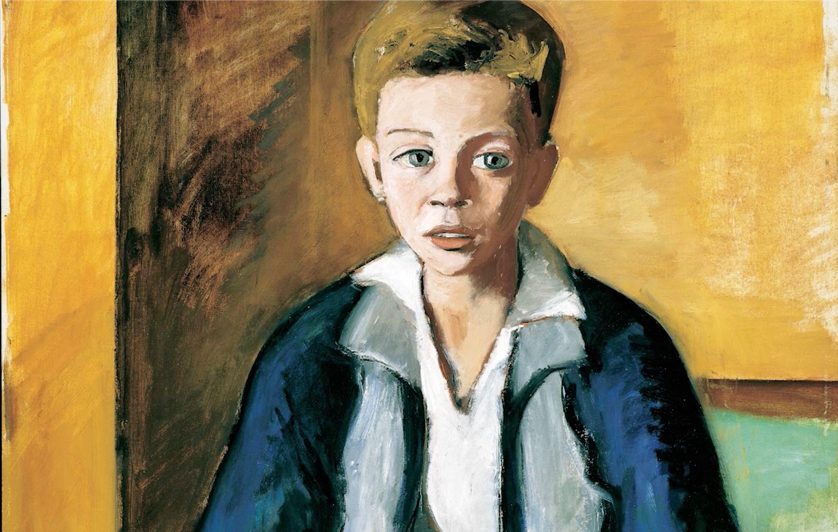 William Goodridge Roberts, «Le garçon au livre»
