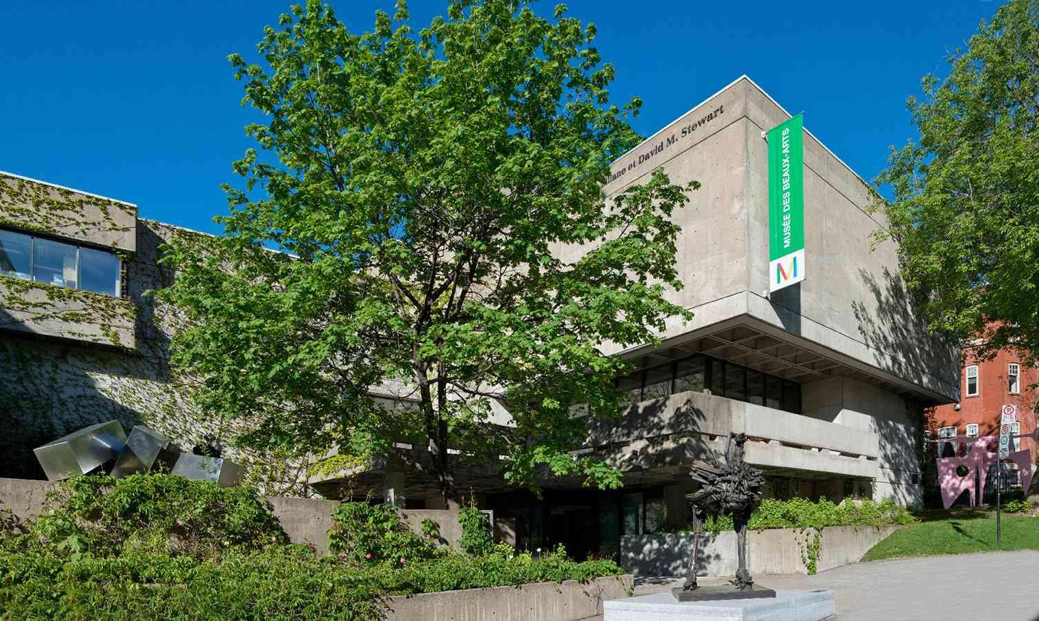 Pavillon Liliane et David M. Stewart, vue extérieure.