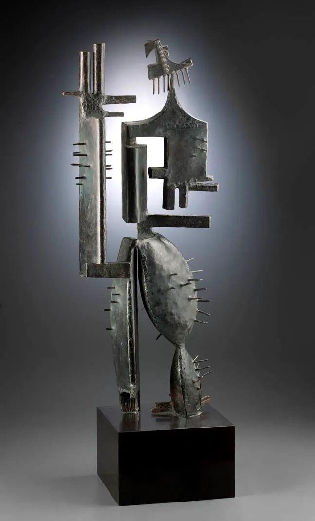 Sculpture de Julio González, Homme cactus no1