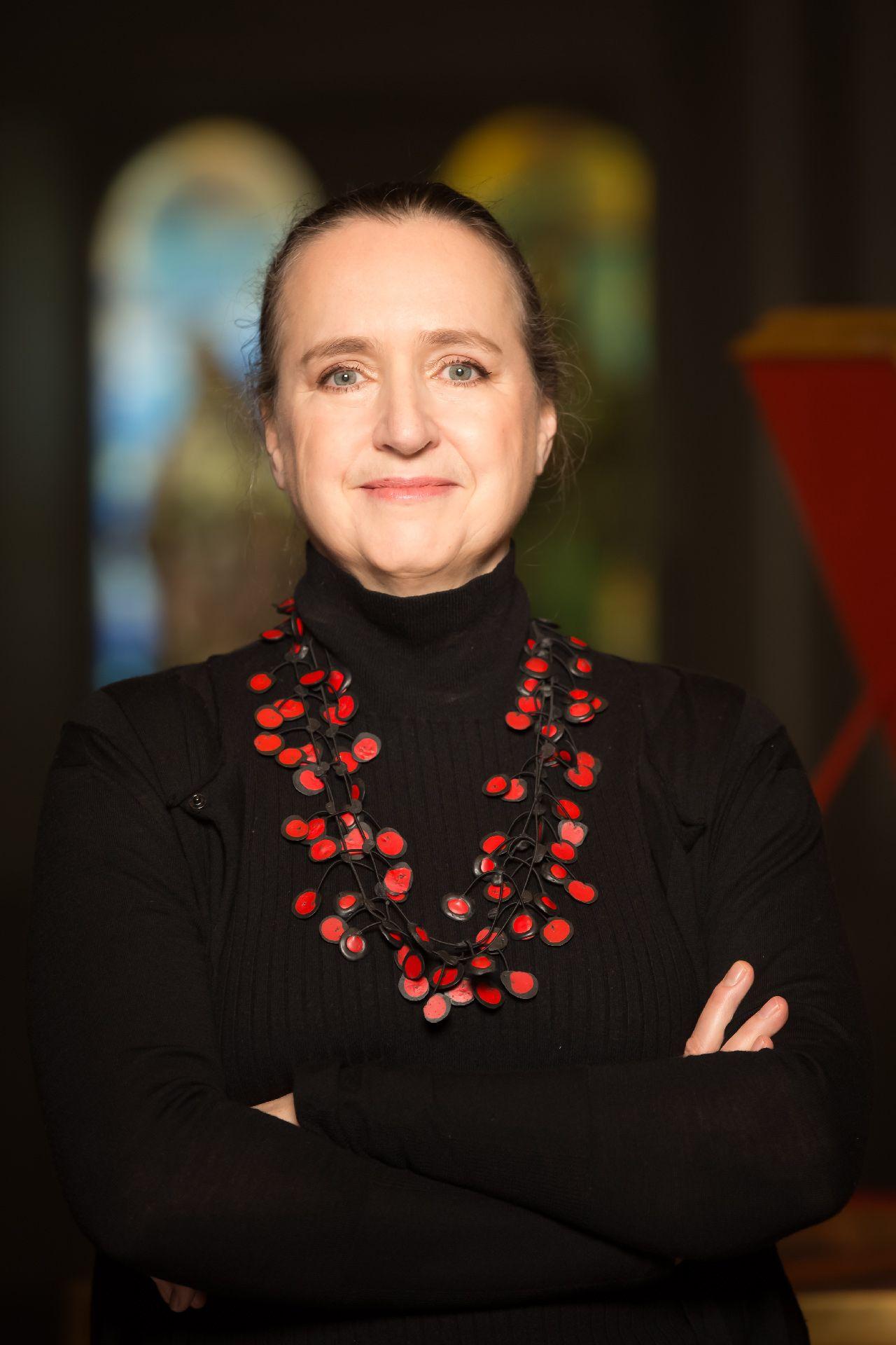 Photo d'Isolde Lagacé, directrice artistique et générale de la salle Bourgie