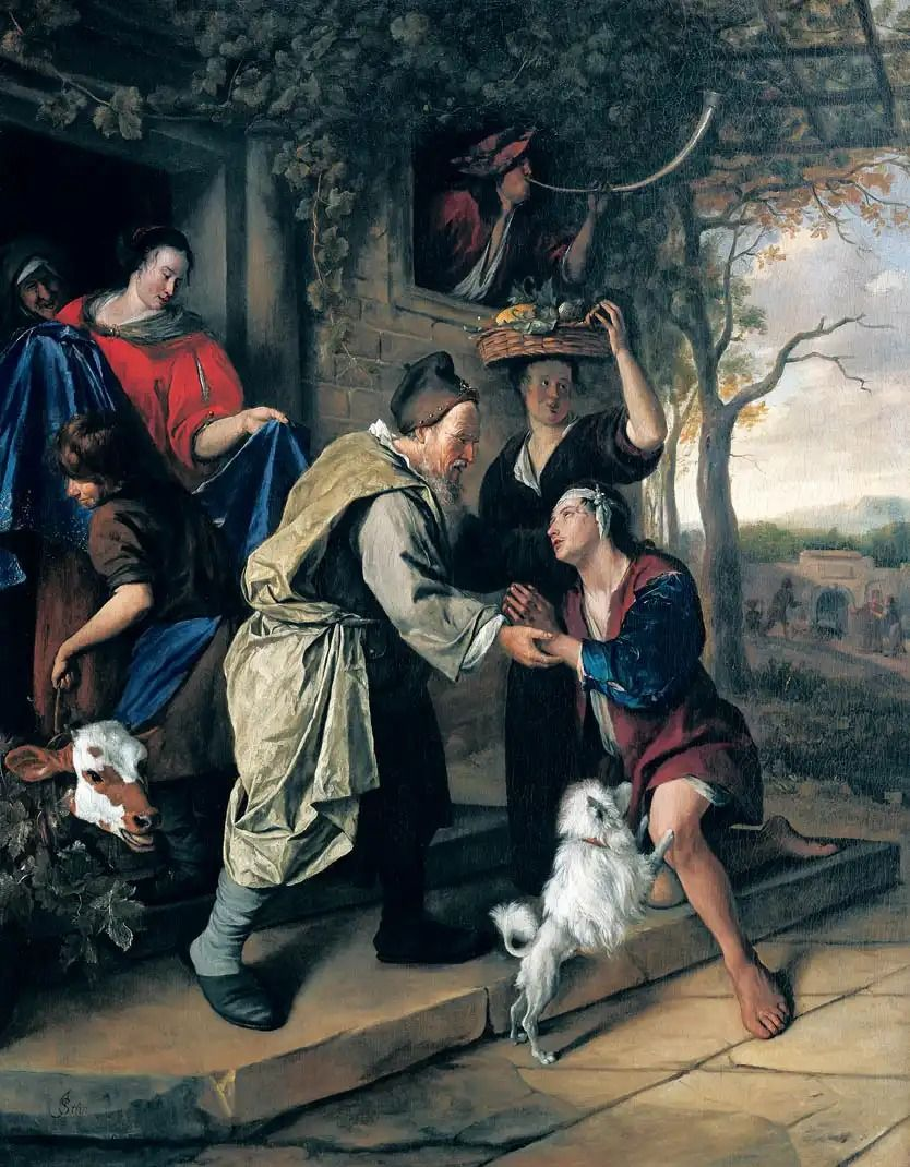 Le Retour de l'enfant prodigue de Jan Steen