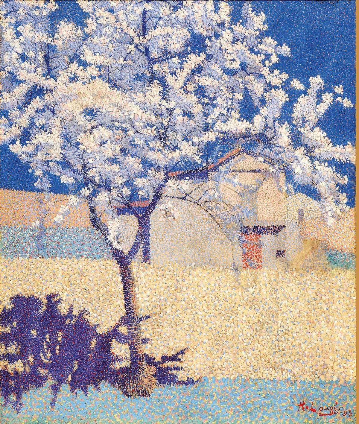 L'arbre en fleur by Achille Laugé