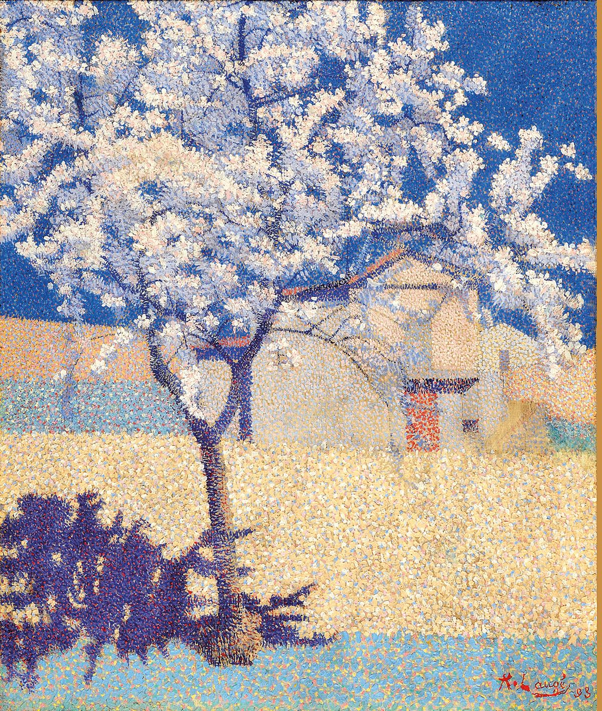 L'arbre en fleur d'Achille Laugé