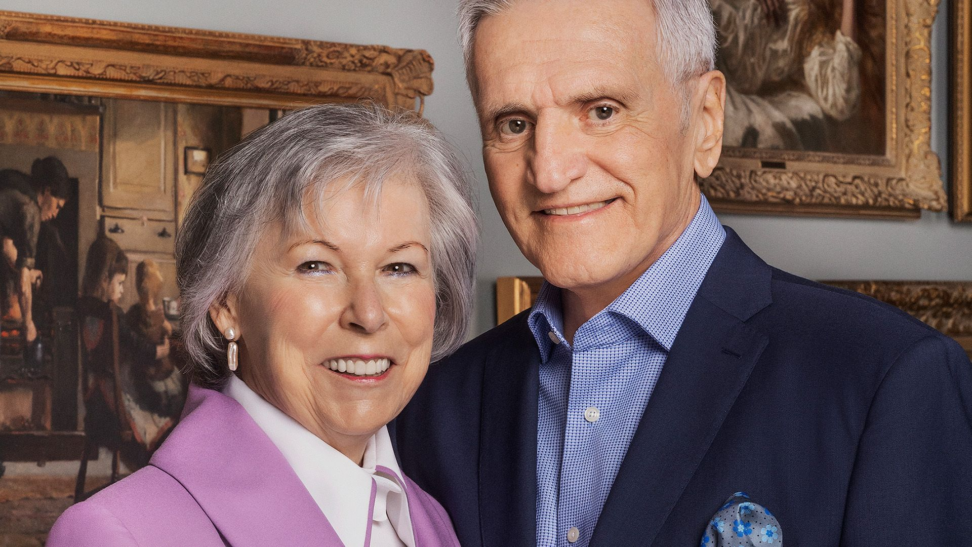 Micheline and Claude, donors since 2005