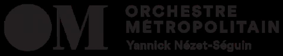 Logo de l'Orchestre Métropolitain de Montréal