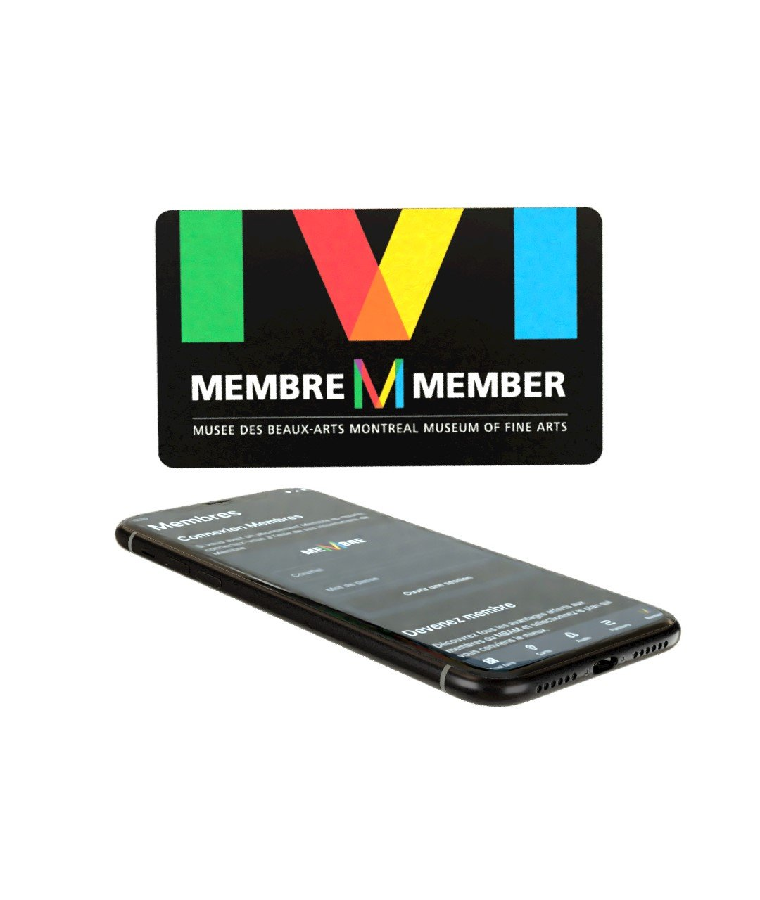 Mobile application - Member card