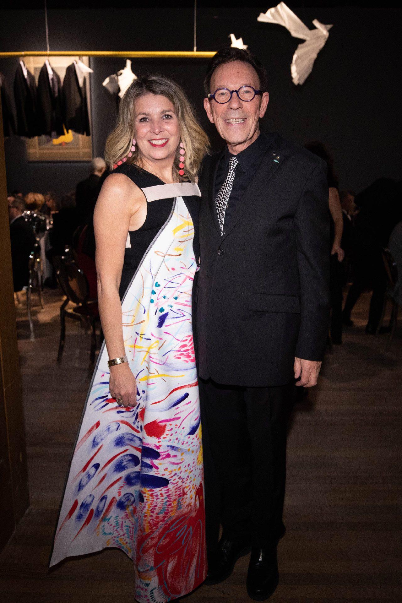 Michel de la Chenelière et Elizabeth-Ann Doyle. Photo © Jimmy Hamelin