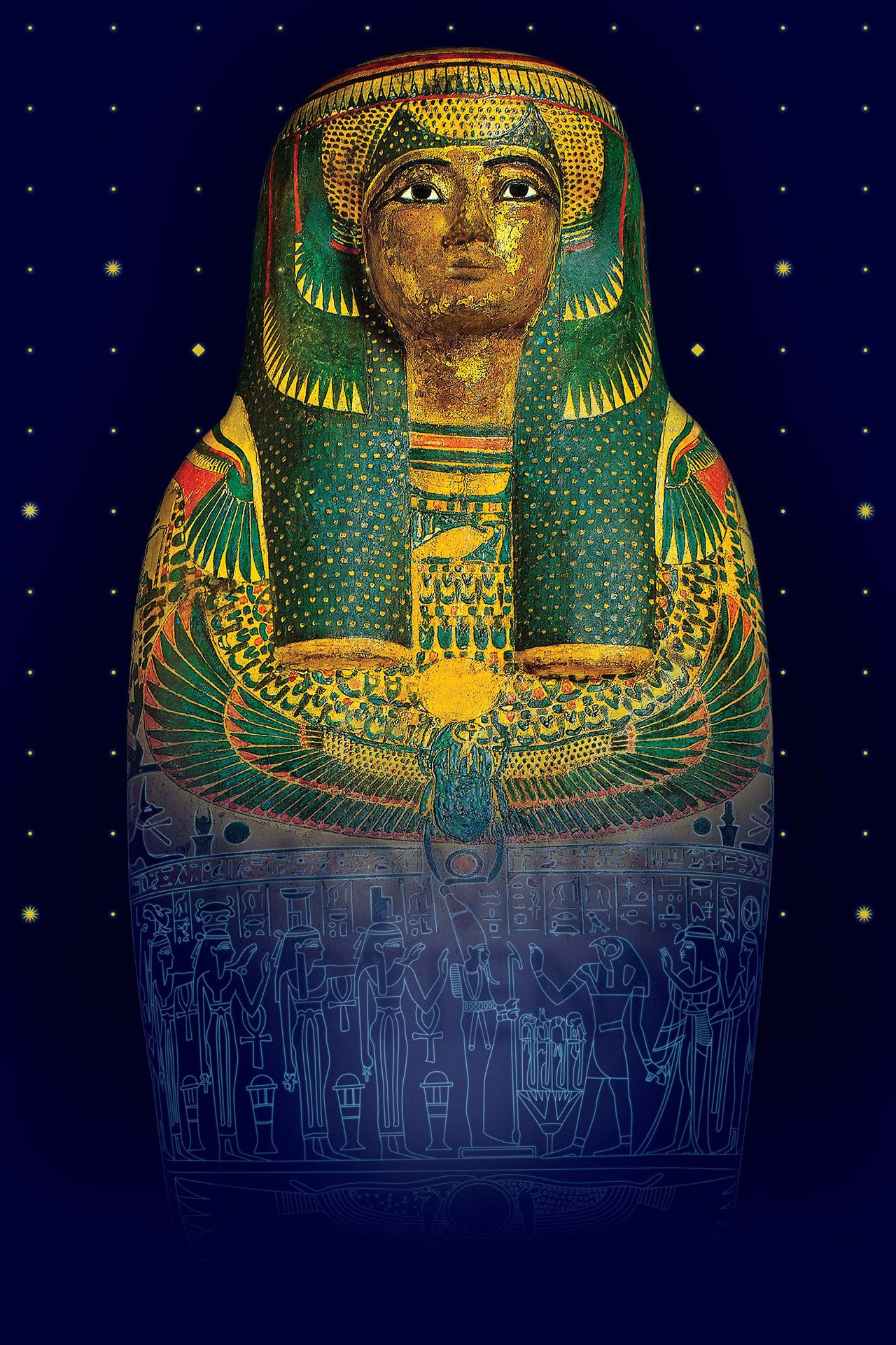 Montreal Museum of fine Arts presents Egyptian Mummies: Exploring Ancient Lives