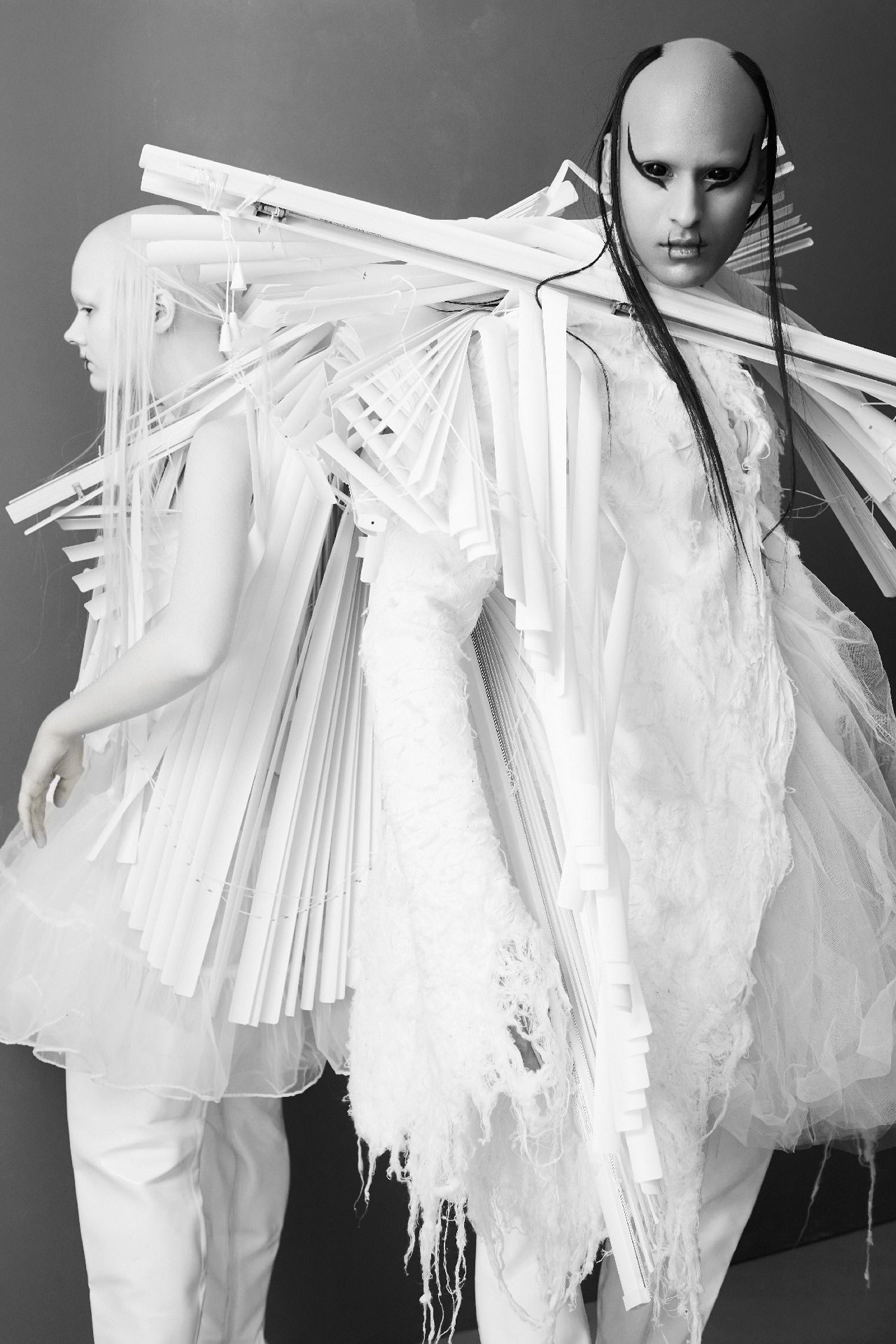 Max Abadian (born in 1967), Atelier New Regime (Koku and Gildas Awuye), 2019, digital print. Maxville Studios, Montreal