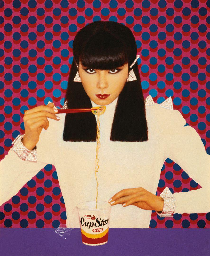 Pierre et Gilles, Bionic Sayoko (Sayoko Yamaguchi); Façade, 1977, photographie peinte. Photo : © Pierre et Gilles