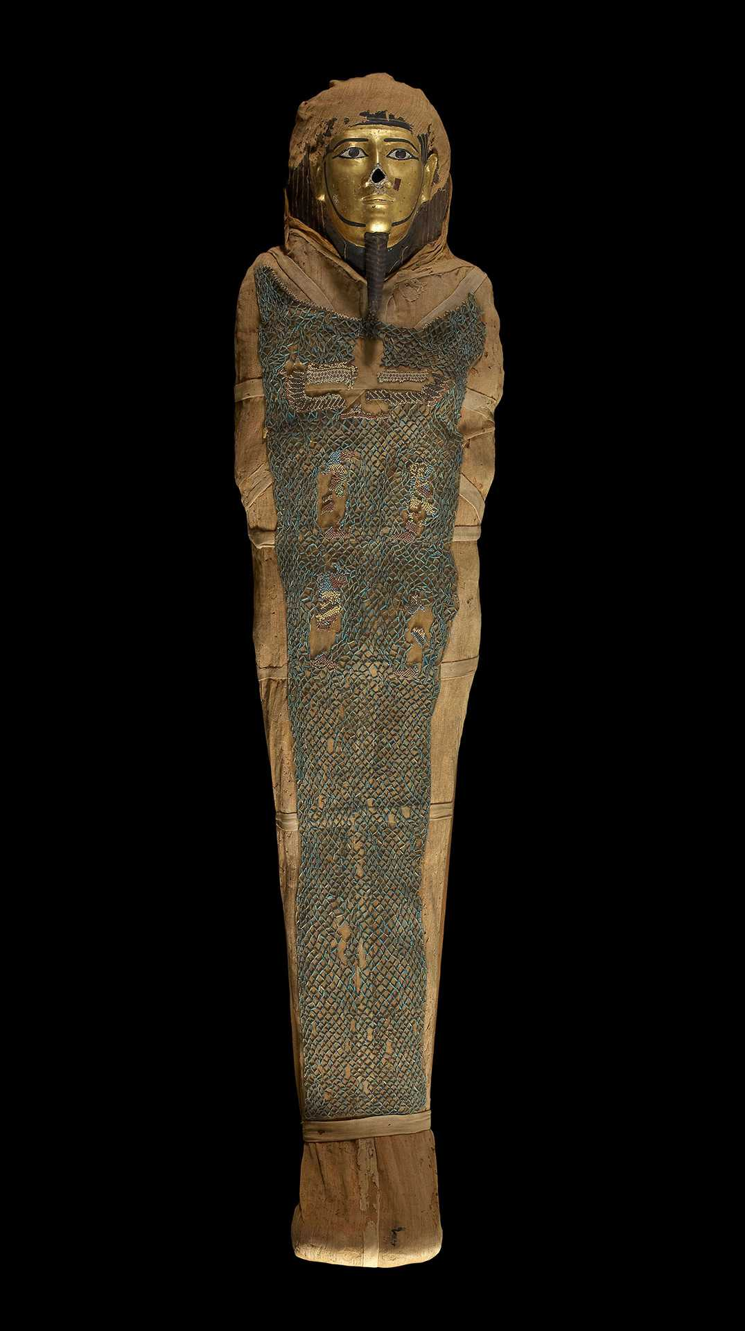 Mummy of Irthorru. Late Period, 26th Dynasty, about 600 BCE, EA 20745. © The Trustees of the British Museum