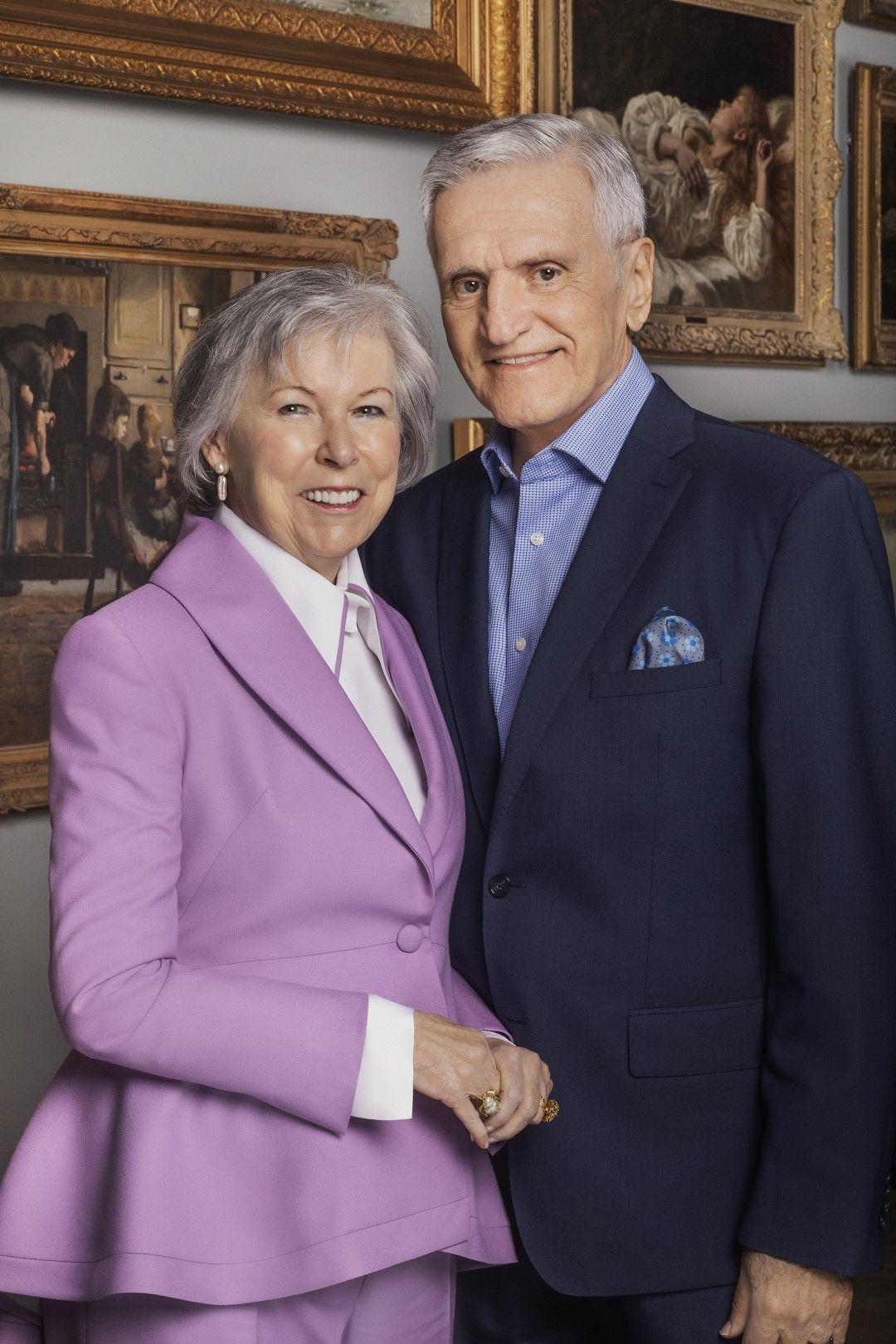 Micheline L'Espérance-Labelle et Claude Labelle, donateurs du MBAM depuis 2005.